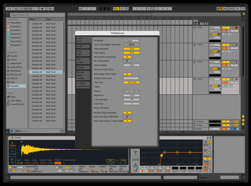 LIVE9 - Long Hours Theme for Ableton 10 by Darren Davies