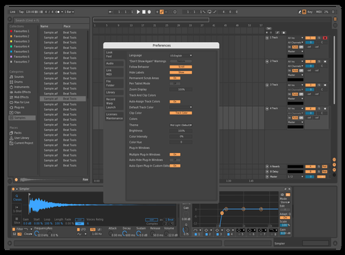Perfekt Darkness Theme for Ableton 10 by iamLennart