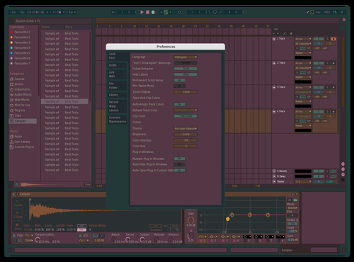 Frog Prince Theme for Ableton 10 by squishedpies @ ig