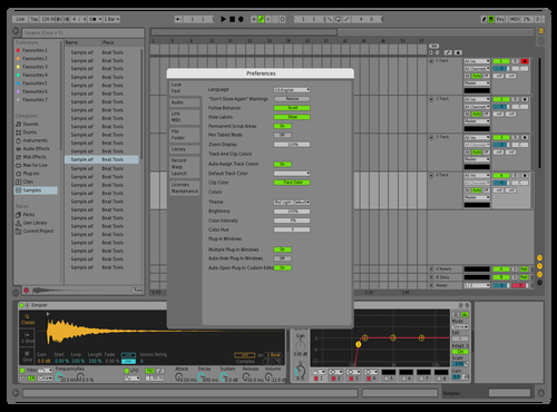 Mid light Theme for Ableton 10 by Bruno