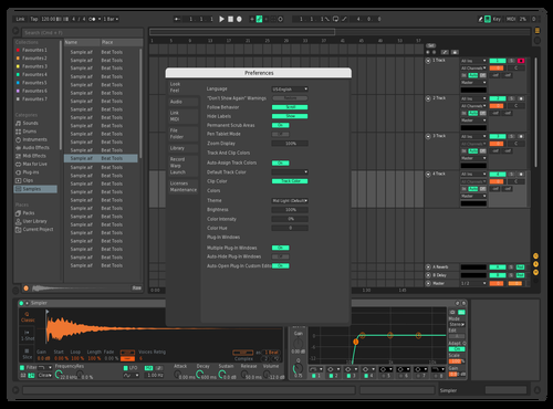 Jungle Black Theme for Ableton 10 by Raoulvermeij