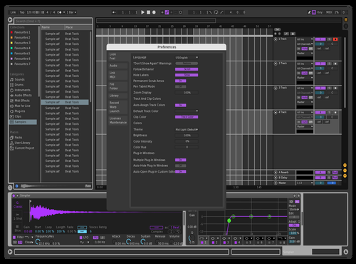 Dark Theme for Ableton 10 by csgot31