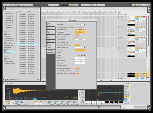 333 Theme for Ableton 10 by Ho