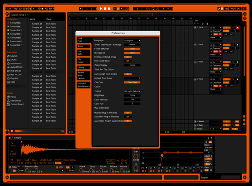 Kevin skin Theme for Ableton 10 by KevinMendez89