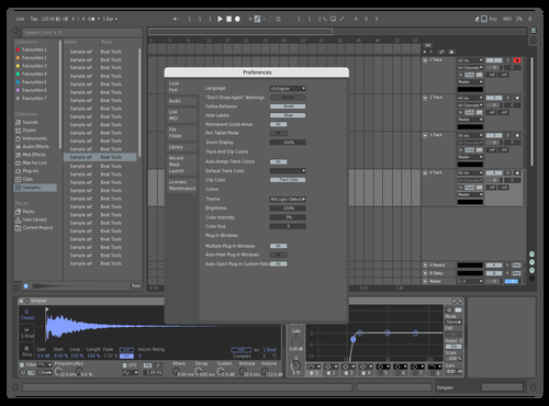 Grey Theme for Ableton 10 by P