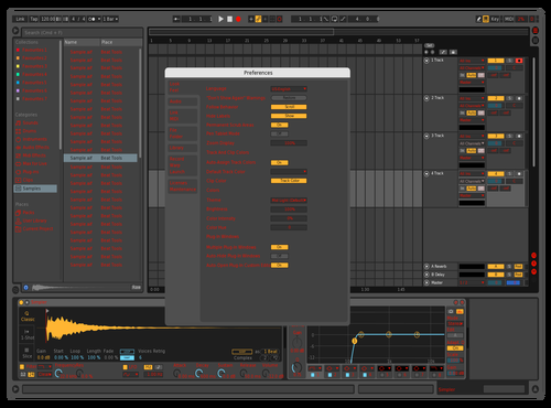 Red boi Theme for Ableton 10 by Connor
