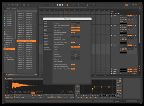 Bitwig-ish 2 Theme for Ableton 10 by arson