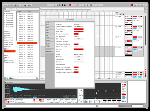 Clear Theme for Ableton 10 by david