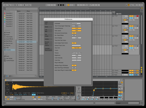 Sinalive Theme for Ableton 10 by kaidstrood