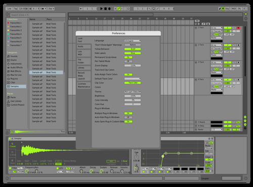 DefRed1 Theme for Ableton 10 by david