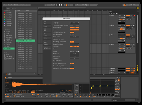 Bitwig v2 Theme for Ableton 10 by davidmorra