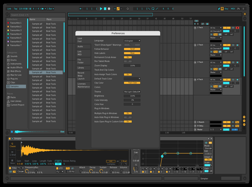 Inverted Neon Theme for Ableton 10 by Clayton