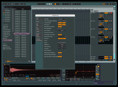 Daisoft Theme for Ableton 10 by dave