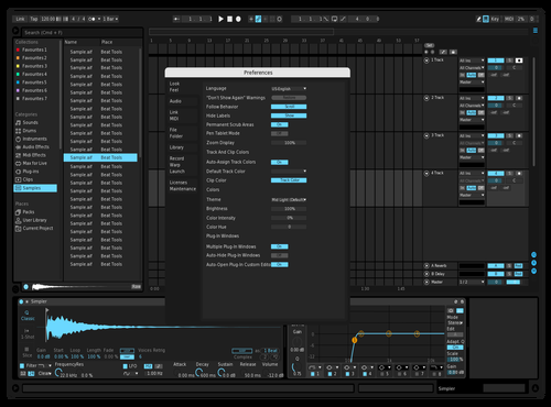 Extradarkremastered 2.0 Theme for Ableton 10 by riley