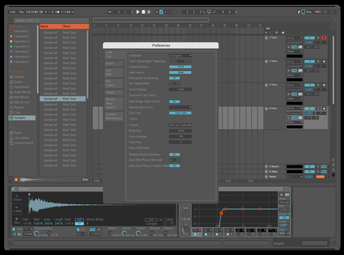 Red19_original Theme for Ableton 10 by RED19