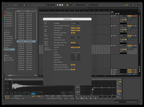 Dark 2 Theme for Ableton 10 by wwww