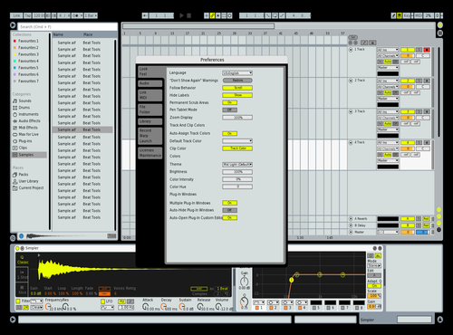 Live6 Theme for Ableton 10 by iaeseo