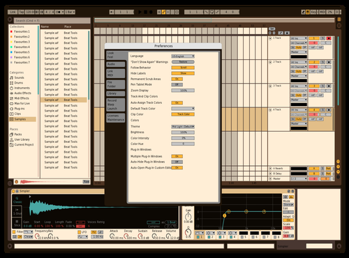 Conversion 4 Theme for Ableton 10 by Marco Viveros