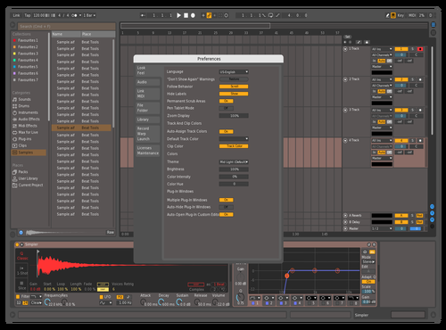 Ow Yeah Theme for Ableton 10 by Wout Maes