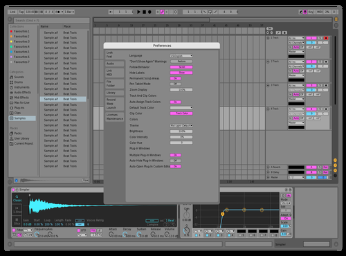 Bubblegum v1.0 Theme for Ableton 10 by Cole Cassidy