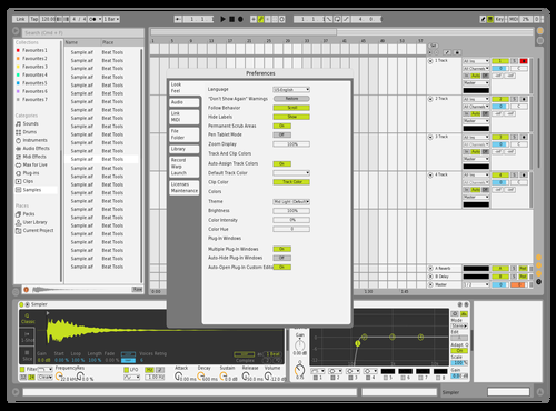 Massive X Reskined 1.5 Theme for Ableton 10 by dillionreverse