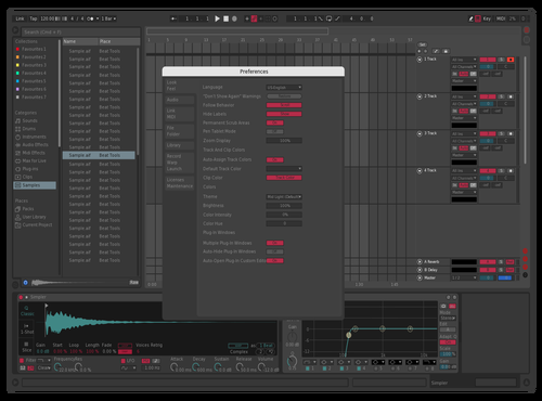 CITRA Theme for Ableton 10 by fred