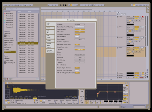 ThingfulEmptiness Theme for Ableton 10 by Stepan Gorbushin