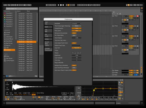 Disco_2.0 Theme for Ableton 10 by Red19