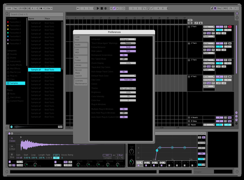 Test01 Theme for Ableton 10 by SHIKI