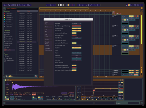 Rs11 Theme for Ableton 10 by rootscript