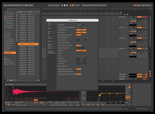 Baltagus Theme for Ableton 10 by Baltag