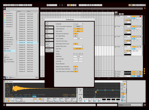 Ho Theme for Ableton 10 by Ho