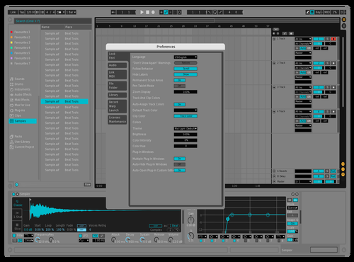 Solid Theme for Ableton 10 by Malaxia
