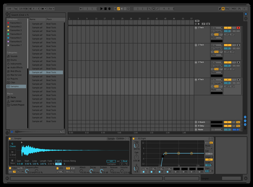 Npf2 Theme for Ableton 10 by NPF