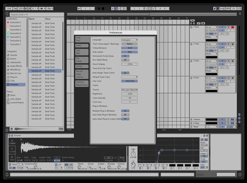 SILVER BLUE HARDWARE Theme for Ableton 10 by hans