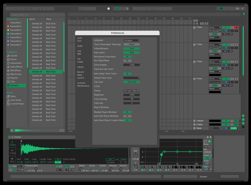 Minth Theme for Ableton 10 by Adorján Sima