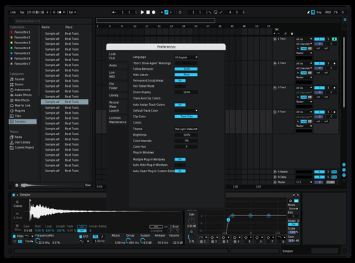 Saved as new Theme for Ableton 10 by Not Reaver alt