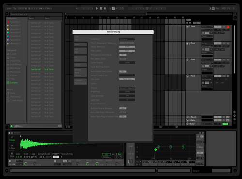 Trying visible grids  1 Theme for Ableton 10 by Moattox