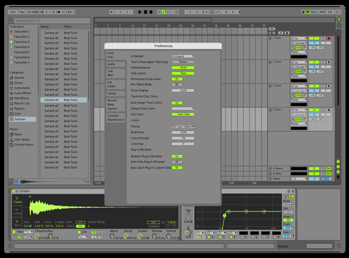 MidGrenMT Theme for Ableton 10 by david