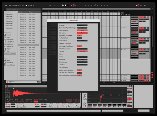 Sfd Theme for Ableton 10 by sfd