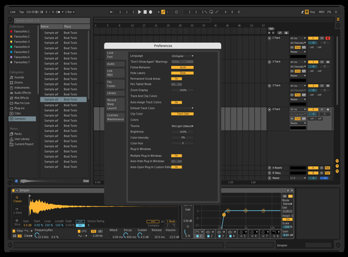 DARKREMIX Theme for Ableton 10 by Sorous