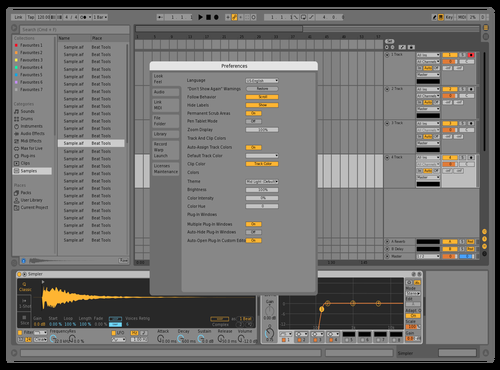 Abl10_MidLight_Abl9 Theme for Ableton 10 by flaviodutra