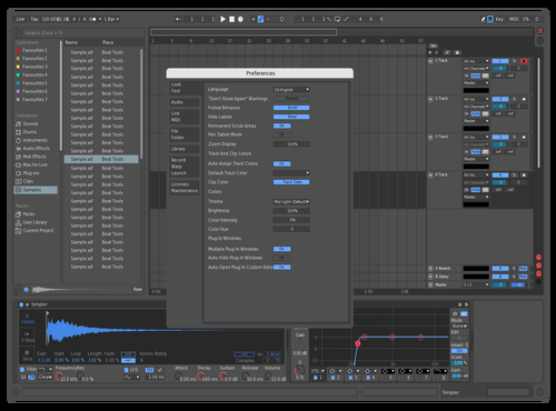 Gray Theme for Ableton 10 by Jorge Garcia
