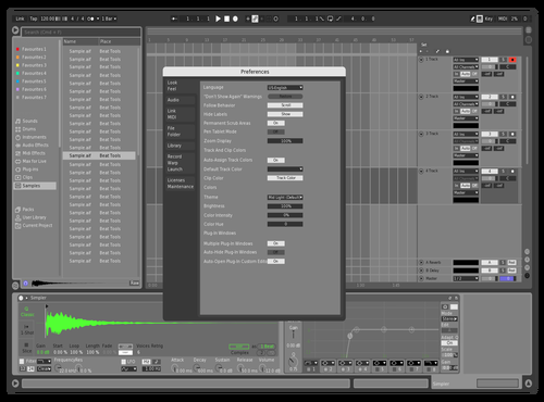 Subtle Theme for Ableton 10 by Brother Xah