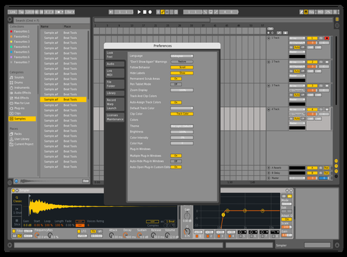 Liveskrilex Theme for Ableton 10 by Jorge Garcia