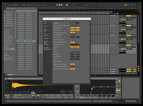 Darkk Theme for Ableton 10 by BLESSKO
