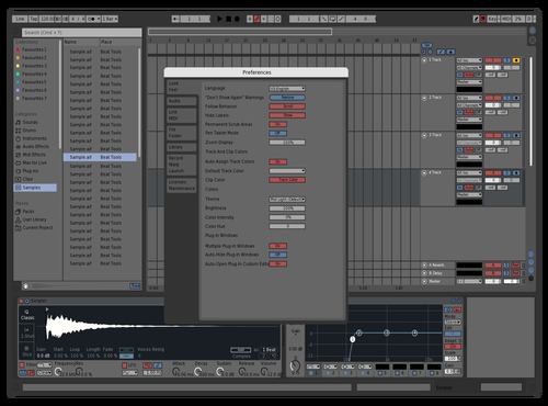 GBRed Theme for Ableton 10 by Alex
