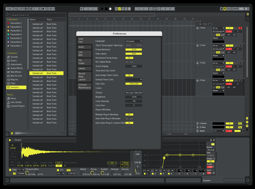 More contrast Theme for Ableton 10 by slacino