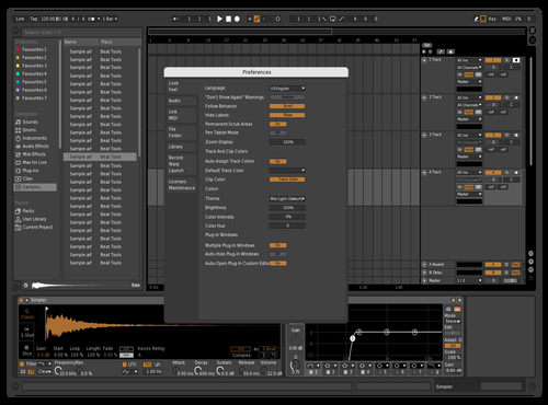 Kristo sand Theme for Ableton 10 by kristo