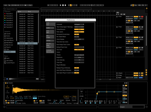 Black Theme for Ableton 10 by tetra